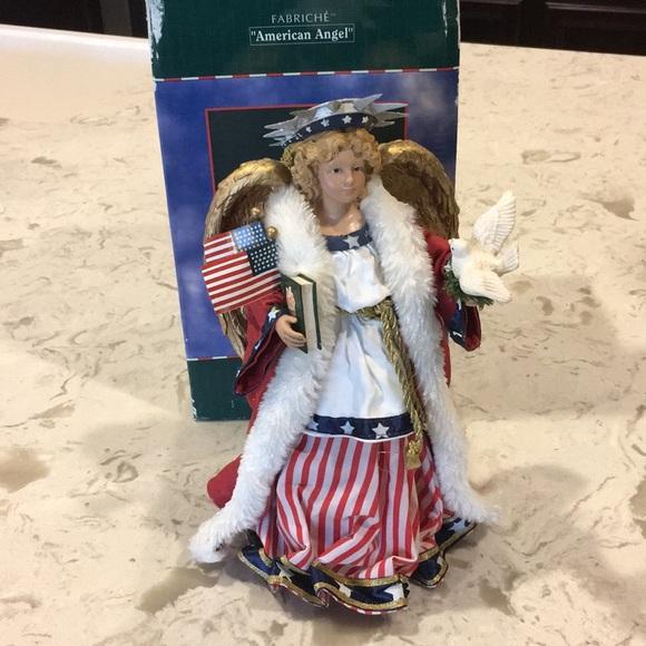 American Angel - standalone or tree topper